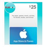 App Store & Itunes Gift Card Tarjeta Apple $25 Usa