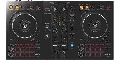 Controlador Pioneer Ddj-400 2 Canales Para Rekordbox Virtual