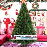 Arbol De Navidad Frondoso 1.80mts Aguja De Pino Modelo 2018