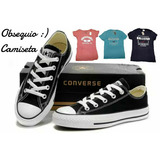Tenis Zapatillas Converse + Obsequio Camiseta + Caja