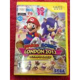 Nintendo Wii Súper Mario Bros Sonic Olimpiadas London 2012 U
