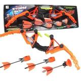 Arco Y Flechas Resortera Juguete Pistola Shooting Storm Bow