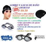 Conjunto Natación Gorro-gafa-tapa Oídos