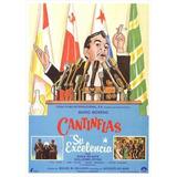 Decoracion Mexicana Poster De Cantinflas Su Exelencia C112
