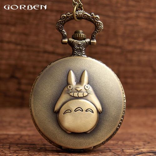 Reloj Collar Coleccionable De Mi Vecino Totoro Anime
