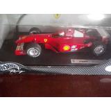 Auto Escala 1:18 De F1 Ferrari 2001