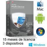 Mcaffee Antivirus Multidevice -- 3 Dispositivos X 15 Meses