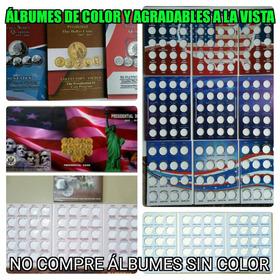 Album Coleccionado Monedas Usa Cuarto De Dolar 25 Centavos