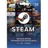 Tarjeta De Regalo De Steam De $ 20 Gift Card