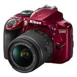 Nikon D3400 Profesional   Red Lente 18-55mm + Tripode + 16gb