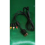 Vendo Cable De Audio Y Video Original De Xbox Clásico
