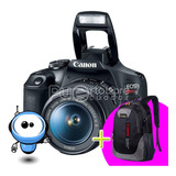 Camara Profesional Canon T7 24.2mp - Wifi + Memoria + Maleta