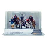 Star Wars The Mandalorian Set 9/1 Figuras Disney Original