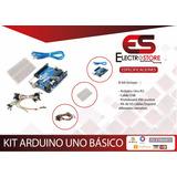 Kit Arduino Uno R3 Atmega328p + Protoboard 400pts+ 65 Cables