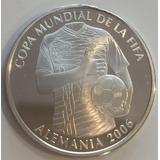 Moneda Ecuador Copa Mundial De La  Fifa Alemania 2006 Plata