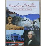Album Para Monedas De Dolar Presidentes 4 Paneles