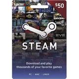 Tarjeta Recarga Steam $50 Wallet Gift Card Multiregion Ofer