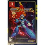 Megaman X Legacy Collection 1+2 Switch - Nuevos Y Sellados