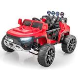 Carro A Bateria De Playa Arenero 4x4 Con Control, Musica Usb