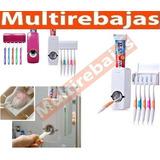 Dispensador De Pasta Dental Automatico Y Porta Cepillos