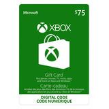 Código Digital Tarjeta Xbox One De Saldo Envío Rápido 70 Usd