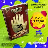 Gravity Falls Diario 3 Pasta Blanda, Libro Nuevo En Oferta