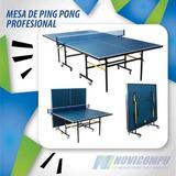 Mesas De Ping Pong Profesionales Plegables One
