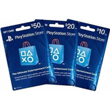 Tarjetas Prepago Playstation Network Card Usa Psn $50 $10 20