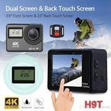 Camara 4k Touch + Control, Tipo Gopro, Con Wifi, Camara Uhd