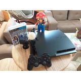 Play Station 3 + Move + Chip Virtual + Juegos