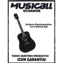 Guitarra Electroacústica Cort Ad810 E Bks