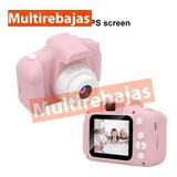 Cámara Fotográfica Para Niña De 8.0 Mpx Y Vídeo Hd