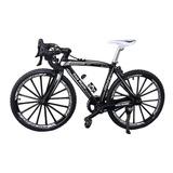 Mini Bicicleta De Ruta, Escala 1:10 - Bike Die-cast