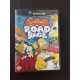Gamecube Juego Los Simpsons Road Rage Original