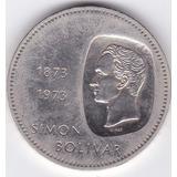Excelente Estado! 10 Bolivares 1973 Venezuela - Plata 0,900