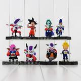 Figuras Dragon Ball Vegueta Goku Zarbon Dodoria Freezer