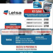 Cyber   5 Compu Core I3 Instala Trasla Gratis Todo El Pa