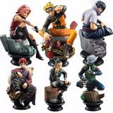 Set De 6 Figuras De Naruto Anime De Colección! Modelo 2
