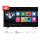Tv Tcl 50 4k Smartv Hdr 2años +soporte +teclado Blackdays