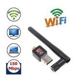 Wifi Usb Portatil Adaptador Antena, Pc, Laptops, Mac, Linux