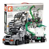 Set Para Armar Trailer Tipo Lego