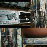 Airsoft Gun Laser Model Bbs 6mm Utileria Disfraz Cosplay Arm