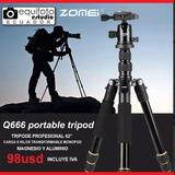 Tripode Fotografico Pro Zomei Q666
