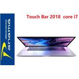 Macbook Pro 2018 Toch Bar 15 Pul 16gb Core I7 256gb  4gb Vid