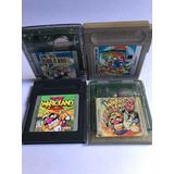 Juegos Gameboy Colección Mario Wario