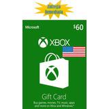 Tarjetas De Recarga Xbox Gift Card - Xbox Live $60