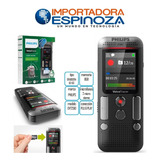 Grabadora De Voz Philips  Digital Doble Mic Mp3 Pantalla Led