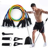 Liga De Resistencia Tubulares Reforzadas Gym Fitness Oferta