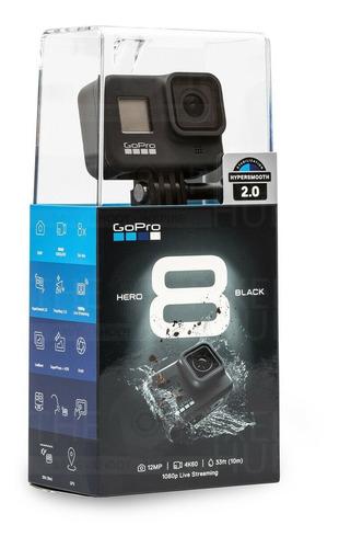 Camara Gopro Héro 8 Black Go Pro Hero8 +32gb +kit Accesorios