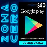 Tarjeta Google Play Store Android De $50